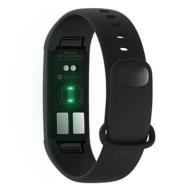 Meet Global Supermarket-Smartwatches@Xiaomi AMAZFIT Heart Rate Smartband BLACK Sleep / HRV Fatigue Monitor IP67 Waterproof