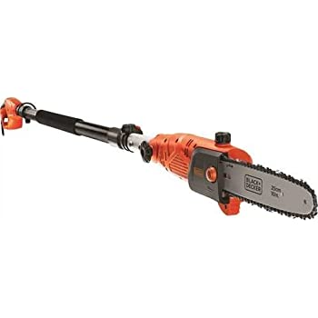 Black+Decker PS7525-QS Sega Potatrice, a Filo, 800 W, Barra Oregon da 25 cm, Arancione