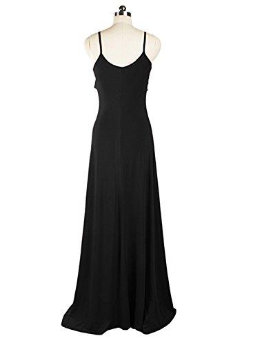 Sparkling YXB - Robe - Cocktail - Sans Manche - Femme Noir - Noir