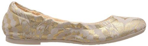 Desigual SERPIENTE Damen Geschlossene Ballerinas Gold (8010)