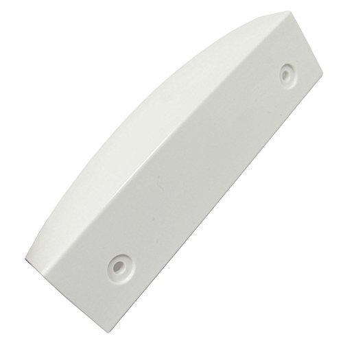 Manilla de Spares2go blanco para puerta de nevera Bosch / Congelador/refrigerador