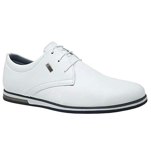 ClassyDude - Zapatos Informales Ante Cordones Hombre