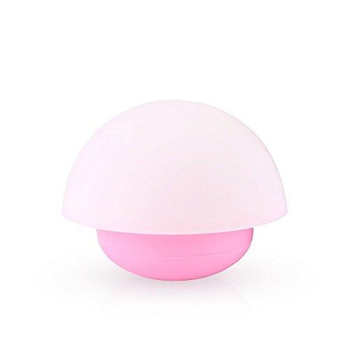 AFAITH Lampada LED,Luce Notturna a Forma di Fungo,Touch Sensore Dimmerabile con 3 Modalit & 7 Colori Lampadina per Asilo,Camera da Letto,Ristorante,Adatta come un giocattolo per Bambini Piccoli