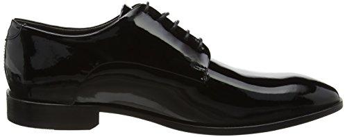 ECCO Figari - Stivali Uomo, Nero (Black Patent), 45.5 EU Schwarz (BLACK 4001)