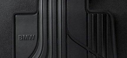 BMW original tapis de sol en caoutchouc bASIC arrière pour bMW série 1 f20 f21 f21 -