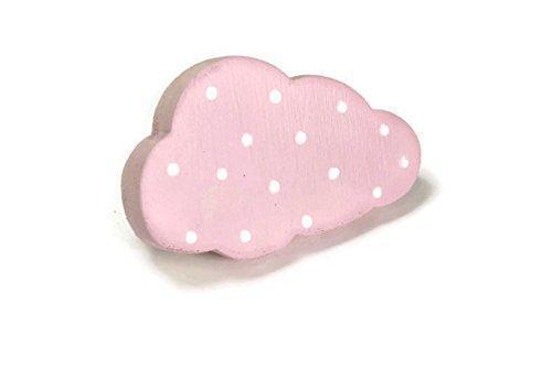 bouton-de-meublepoignee-de-meuble-enfant-nuage-rose-en-bois-peint