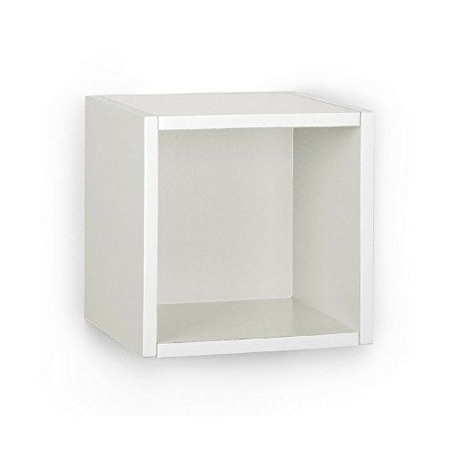 A10 Shop Cubox Storage unit- Open type, 30 cm wide x 30 cm high (Single) - White