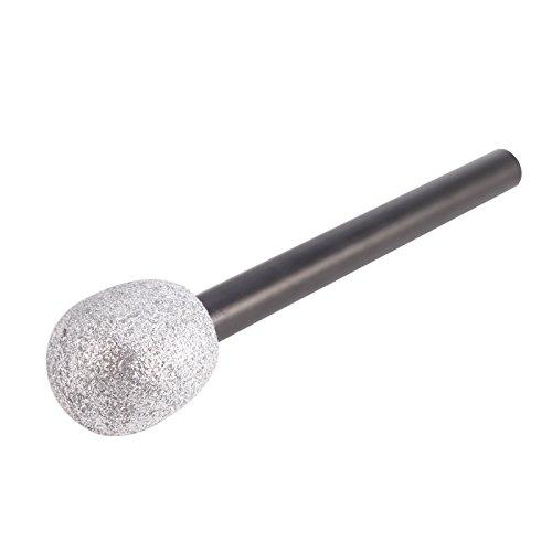 Attrappe Mikrofon Spielzeug Mikrofone Disco Sänger Kostüm Zubehör Silber