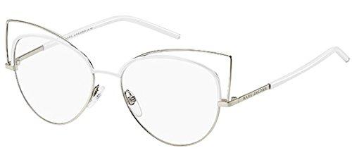 Marc Jacobs Damen Marc 12 U05 53 Sonnenbrille, Weiß (Gold White)