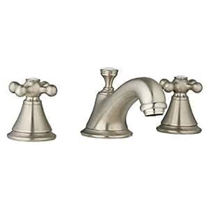Grohe K20800-18731-EN0 Seabury Lavatory Cross Faucet Kit, Brushed Nickel