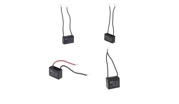 CBB61 AC 450V 1.2uF 50//60 Hz Wired Motor Run Capacitor For Motor Starting