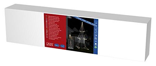 Konstsmide 3943-103 A, Tuyau LED Silhouette, métal, 8 watts, Transparent, 300 x 175 x 175 cm