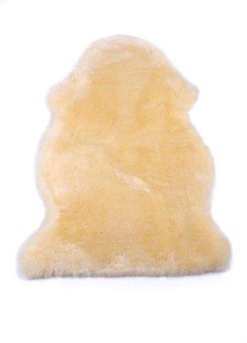 Naturasan Baby-Lammfell, geschorenes Babyfell, medizinisch gegerbtes weiches Schaffell, ideal für Kinderwagen, Buggy oder als Krabbel-Auflage, 80-90 cm