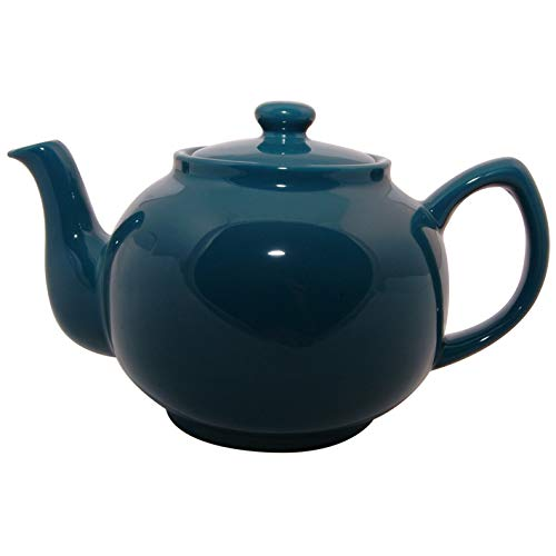 Price & Kensington Brights Teal Blue 6 Cup Teapot