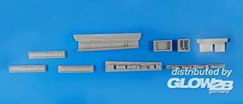 CMK 4351-Accesorios de construcción Bac Lightning F2A/F6de Electronics Boxes Set for Airfix/Eduard Kit