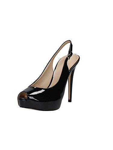 Guess Damen Footwear Dress Sling Back Plateaupumps Schwarz