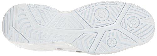 Plata De Asics Hombres 7 Gel Blanco Zapatos Resolution® Z4awC0q