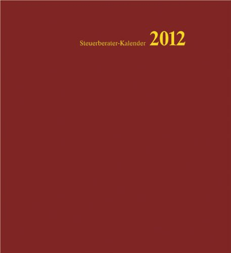 Steuerberater-Kalender 2012