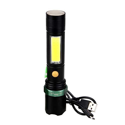 Arbeitslicht Taschenlampe10W Taschenlampe 4 Modus Zoom T6 COB LED Taschenlampe USB wiederaufladbar 18650 Batterie Taschenlampe Magnet Adsorptionslampe -