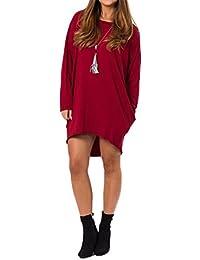 UK Ladies Womens Red Velvet Long Sleeve Choker Back Bow Bodycon Mini Dress Party
