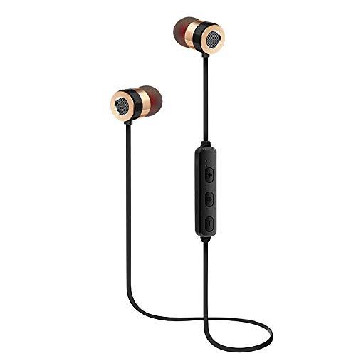 OPAKY Bluetooth-Funkkopfhörer Stereo-Sport Ohrhörer In-Ear-Headset,für iPhone, iPad, Samsung, Huawei,Tablet usw.