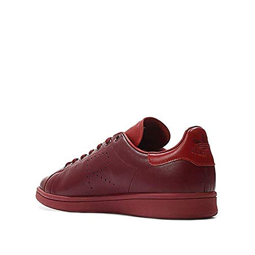 release date: 38e49 ed1cc adidas x RAF Simons Men Stan Smith Burgundy Power red collegaite Burgundy  Size 9.0 US