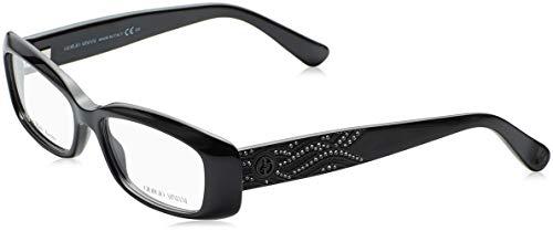 Giorgio Armani Herren AR6016J Sonnenbrille, Schwarz (Matte Black 300180), One Size (Herstellergröße: 51)