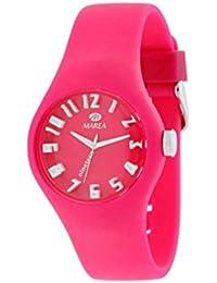 Marea -- B3550607 - Reloj para mujeres, correa de silicona color rosa