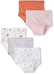 Moon and Back by Hanna Andersson 5 Pack Classic Underwear Unisex niños, Pack de 5