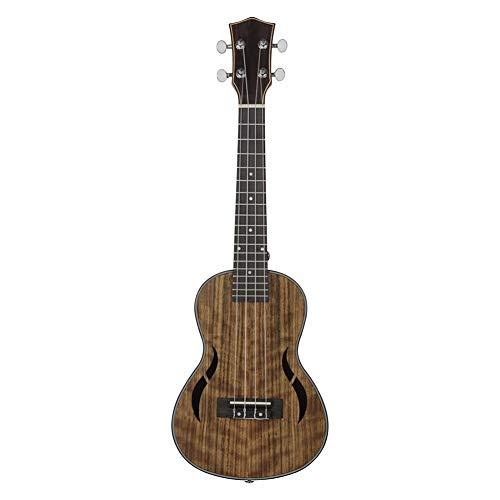 HshDUti 21/23/26 zoll 4 String Holz Ukulele Hawaiian Gitarre Musikalische Akustische Instrument Coffee 23inch