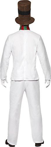 Imagen de smiffy's  disfraz de muñeco de nieve para hombre, talla l 28003l  alternativa