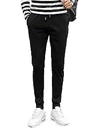 c65fac3fe7c5 Bovake Herren Nähen Hose Sport Slim Chino Pants Moderne Stoffhose,Baumwollhose  für Männer,Freizeithose