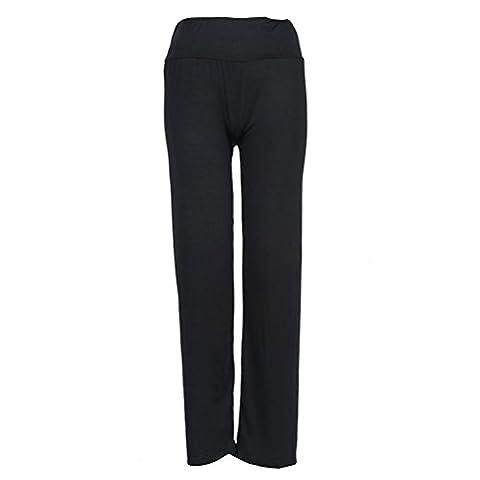 Pantalon Femme Dore - Pantalon Fluide Femme Noir Chic Ete BohêMe
