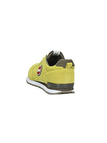 Colmar Travis Colors 006 Sneakers Uomo Tessuto Yellow Grey Giallo Estate 2017 Yellow/Gray
