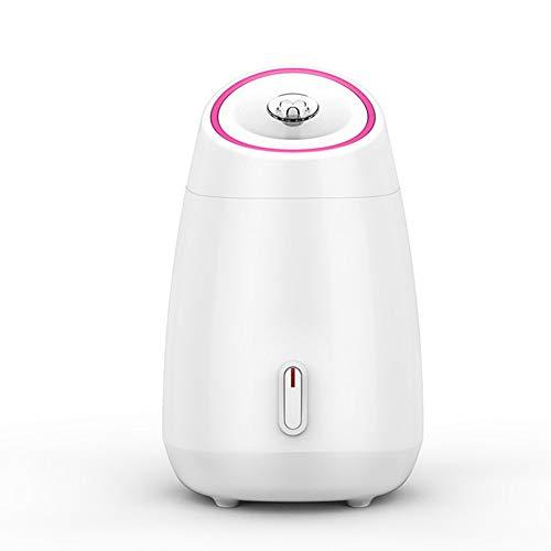 DNNAL Gesichtsdampfer Dampf-Inhalator-Feuchtigkeitscreme für die Gesichtshaut Luftbefeuchter Diffusor, Obst und Gemüse,White -