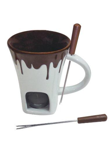 Chocolade fondue mok set 4-delig Swissmar F12064 Nostalgia