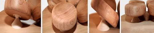 Sauna Kopfstütze ergonomisch perfekt für jeden Kopf - 3