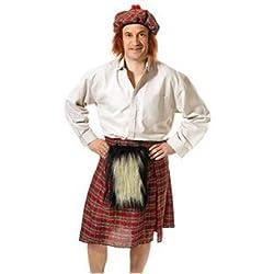 Fancy Dress Costumes | Scots Kilt & Hat (disfraz)