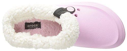 crocs Unisex-Erwachsene Clscblitz2clog Clogs Pink (Ballerina Pink/Oatmeal)