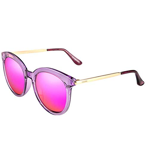 Sonnenbrillen Sonnenbrillen - Polarisiert, UV-beständig, runder Rahmen, Modetrend, Damen beim Shoppen auf der Straße, Outdoor-Aktivitäten, 4 Farben zur Auswahl