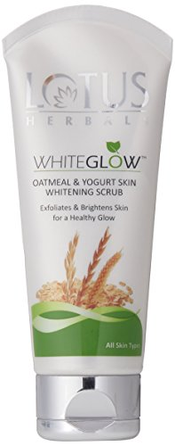 Lotus-Herbals-White-Glow-Oatmeal-and-Yogurt-Skin-Whitening-Scrub-100g