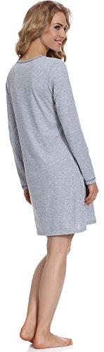 Italian Fashion IF Camicie da Notte per Donna Malina New 0115 Melange