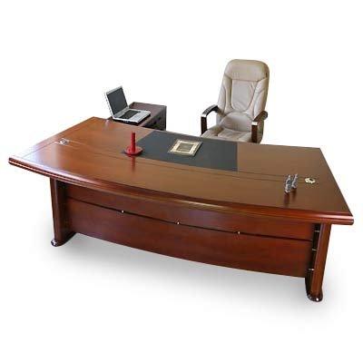 Chef Schreibtisch Büromöbel Bueroausstattung Büro Echtholz Kirschbaum Chefschreibtisch