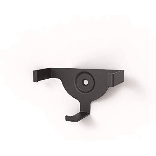 Hama Wand-Halter/-Befestigung (für Echo Dot, 2. Generation, platzsparende Echo Dot-Lautsprecher Halterung, Metall) schwarz