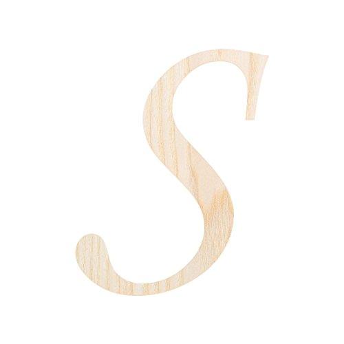 Bütic GmbH Holz-Furnier Buchstaben - MT - Schriftzug aus hellem 0,6mm Echtholzfurnier - Größenauswahl, Größe:15 cm, Buchstaben:großes - Holz Dünnes