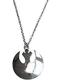 Star Wars. Rebel Alliance Collar pendiente del final de plata.