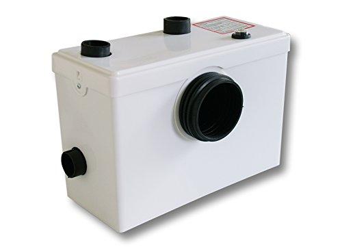 Preisvergleich Produktbild WilTec 3/1 Hebeanlage Abwasserpumpe Pumpe Kleinhebeanlage Fäkalien WC Häcksler