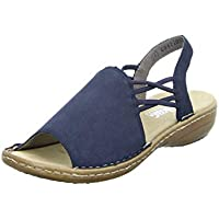 58a210c68d9e Rieker Women s 608d1-14 Closed Toe Sandals