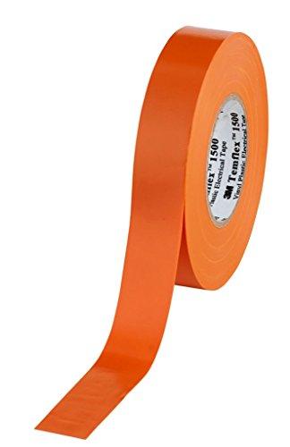 1500 Vinyl Elektro-Isolierband, 19 mm x 25 m, 0,15 mm, Orange ()