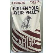 Argo Golden Eigelb Layers Pellets 20kg, Ihre Hühner mit ätherischen, Proteine, Vitamine & Mineralien